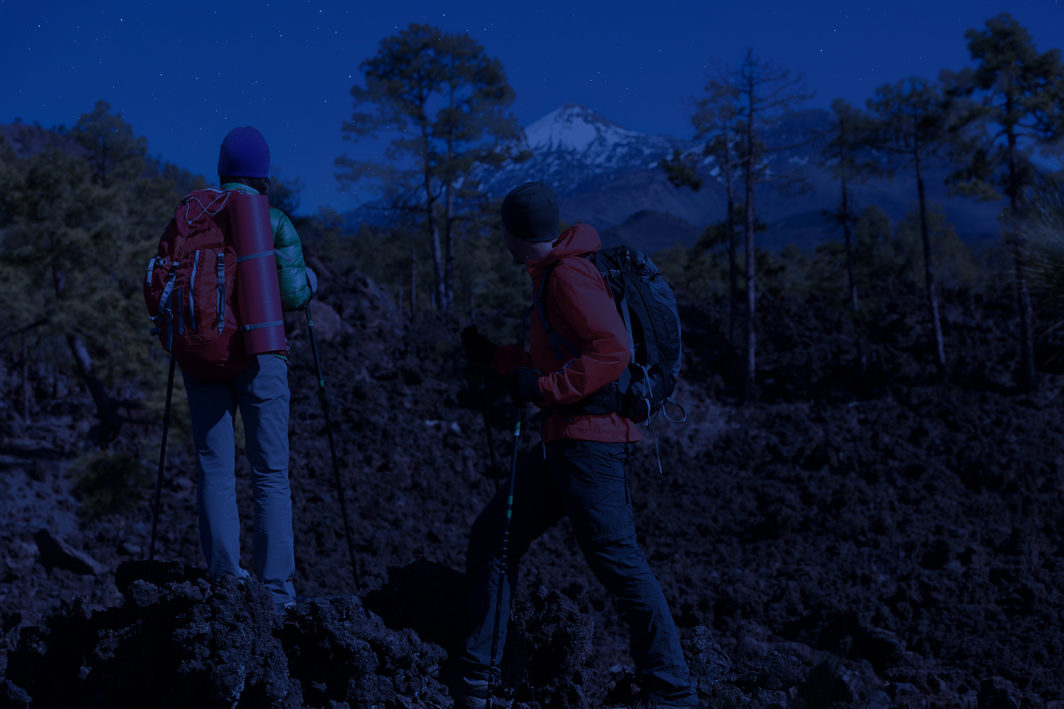 Teide by night active